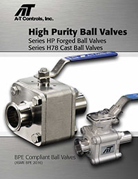 High Purity Ball Valves Catalog (HP / H78)