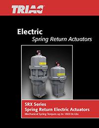 SRX: Spring Return Electric Actuator Catalog