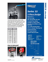 55 Series Manual and Automated Ball Valve Packages