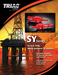SY Series Scotch Yoke Multi-purpose Actuators