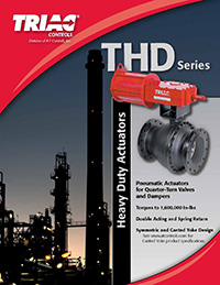 THD Series Heavy Duty Actuators