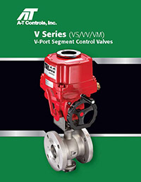 VS, VV, VM Series Segment Control Valves (Soft or Metal Seat)