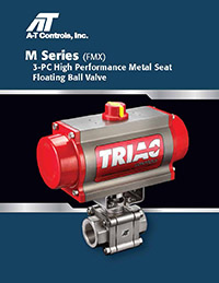 M Series 3 Piece High Performance Metal Seat Ball Valve