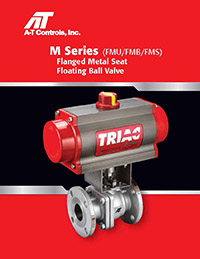 M Series Flanged (Floating) Metal Seat Ball Valve