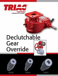 2RDGO, 2CDGO, 2KDGO Series Declutchable Gear Overrides