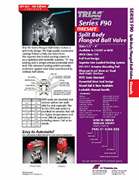 F90 Series Firesafe Flanged Ball Valve & Automated Packages