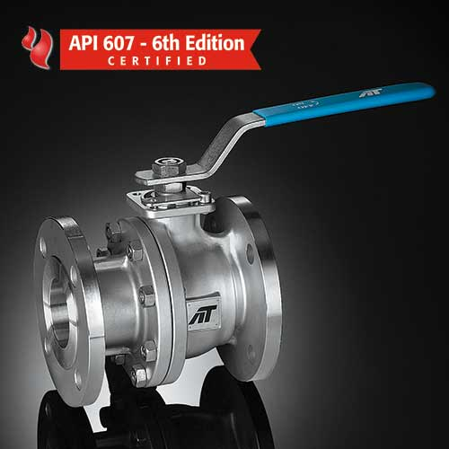 F90 Series Firesafe Split Body Flanged Ball Valve
