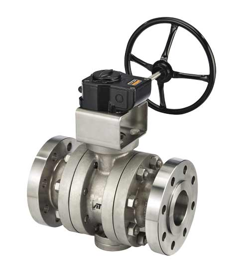 TM Series - TRUNNION Mounted Metal Seat Ball Valves