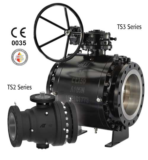 TS Series - TRUNNION Mounted Soft Seat Ball Valves