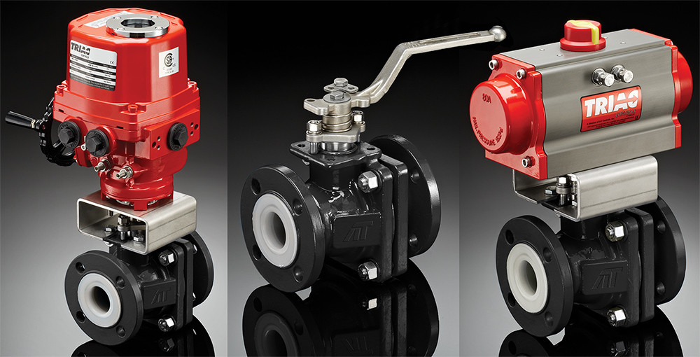 LB Series: PFA Lined Ball Valves