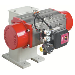 Floor Mounted Damper Drives