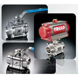 3-Piece Ball Valves