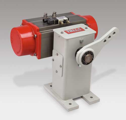 Pneumatic Floor Mount Damper Drive Options