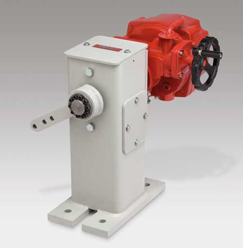 Electric Floor Mount Damper Drive Options