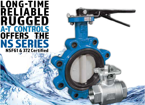 NS Series Ball and Butterfly Valves