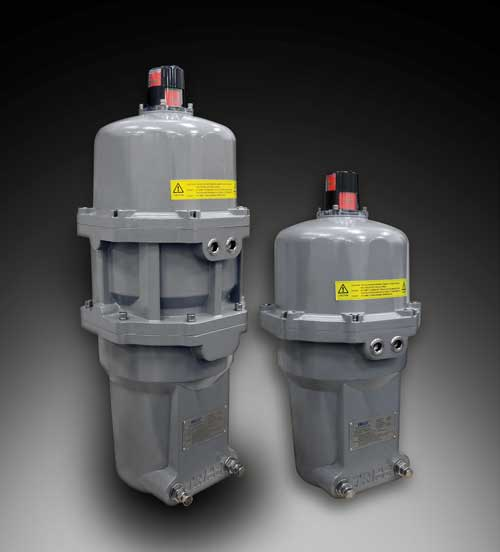 SRX Series: Spring Return Electric Actuators