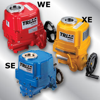 WE/XE/SE Series: Weather Proof, Explosion Proof, & Submersible Electric Actuators